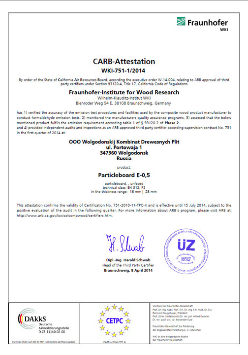carb attestation